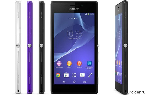 Sony работает над доступным влагозащищенным LTE-смартфоном