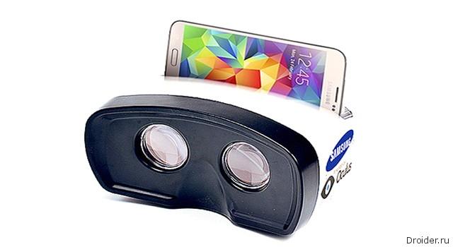 Первый «живой» снимок Gear VR от Samsung