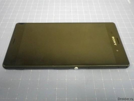 Фотографии флагмана Xperia Z3 от Sony попали в сеть