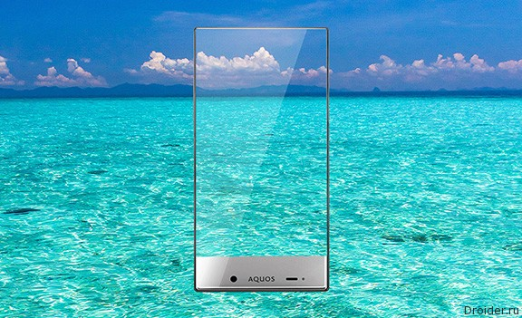 Aquos Crystal от Sharp – «безрамочные» смартфоны для международного рынка