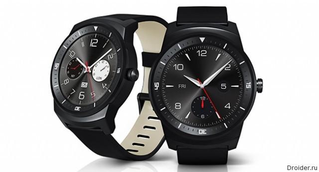 G Watch R – круглые смарт-часы от LG