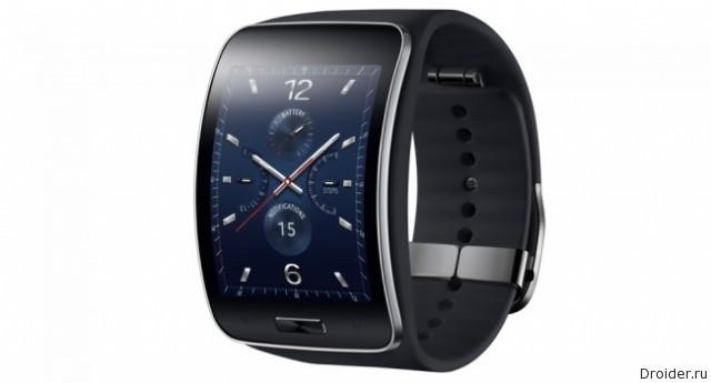 Samsung представила смарт-часы Gear S