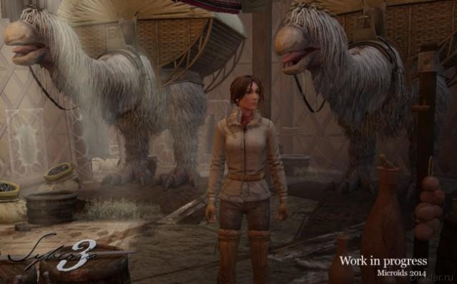 Опубликованы первые скриншоты игры Syberia 3