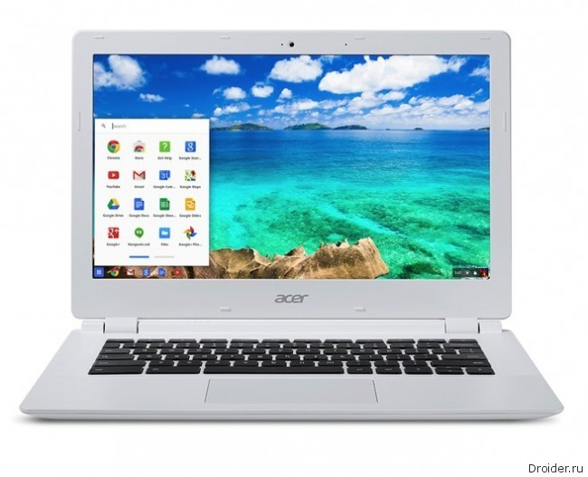 Acer анонсировала «хромбук» на основе NVIDIA Tegra K1