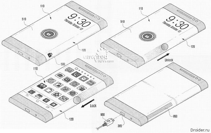 Концепт смартфона YOUM, который переродился в бренд GALAXY Note Edge