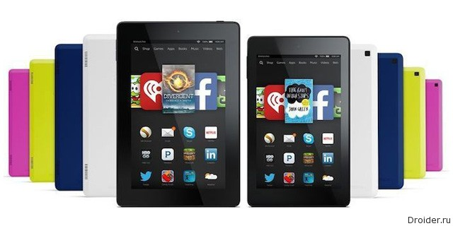 Kindle HD 6 и Kindle HD 7
