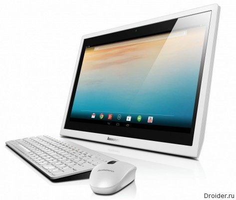 Android-моноблок N300 от Lenovo добрался до РФ