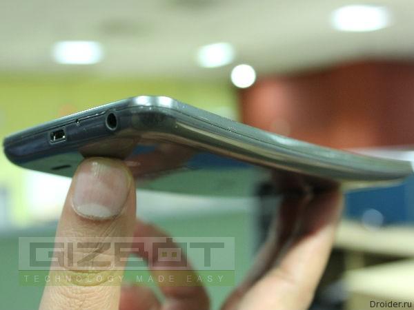 Эксклюзивные фото смартфона LG G Flex 2 от портала Gizbot