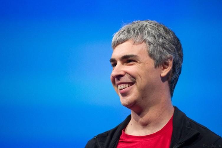 Ларри Пейдж на Google I/O