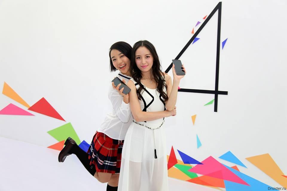 Реклама смартфона MX4 от Meizu