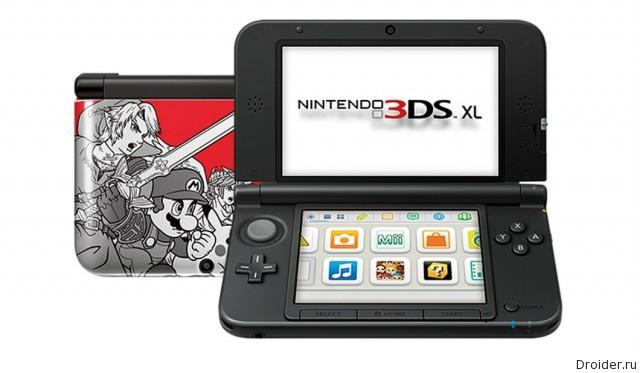 Дизайн Super Smash Bros консоли 3DS XL от Nintendo