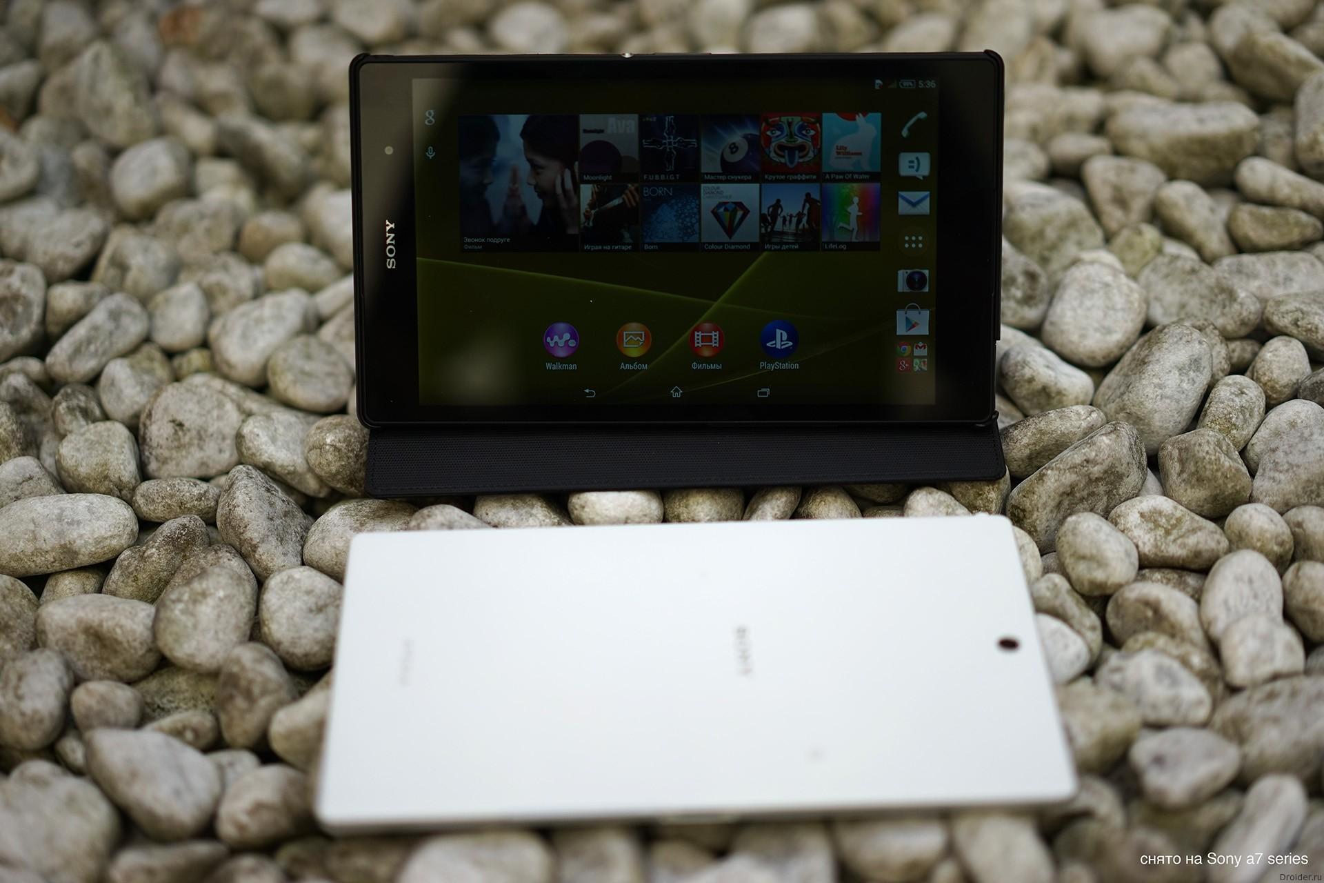 [Первый взгляд] Xperia Z3 Tablet Compact – компактная «таблетка» от Sony