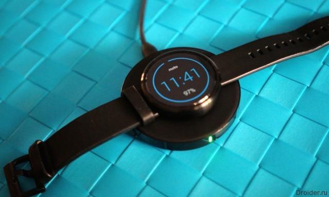 Смарт-часы Moto 360 от Motorola