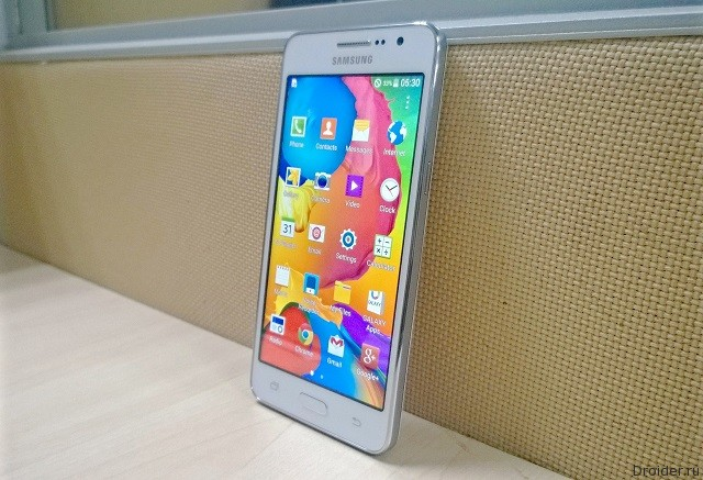 Galaxy Grand Prime cтанет первым «селфифоном» от Samsung