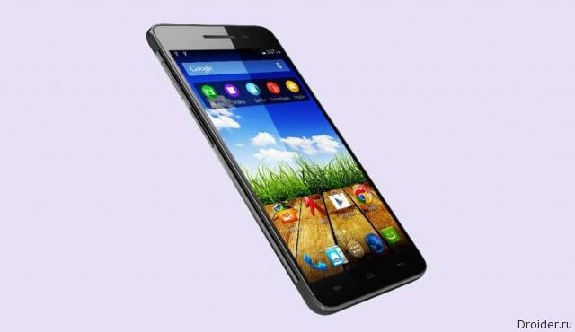 Micromax представила бюджетный 8-ядерный смартфон
