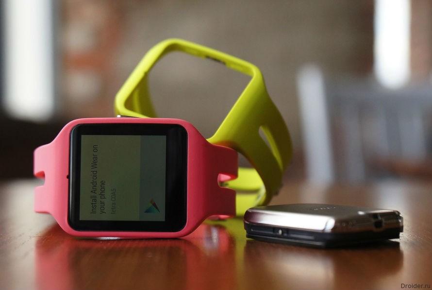 Смарт-часы SmartWatch 3 от Sony