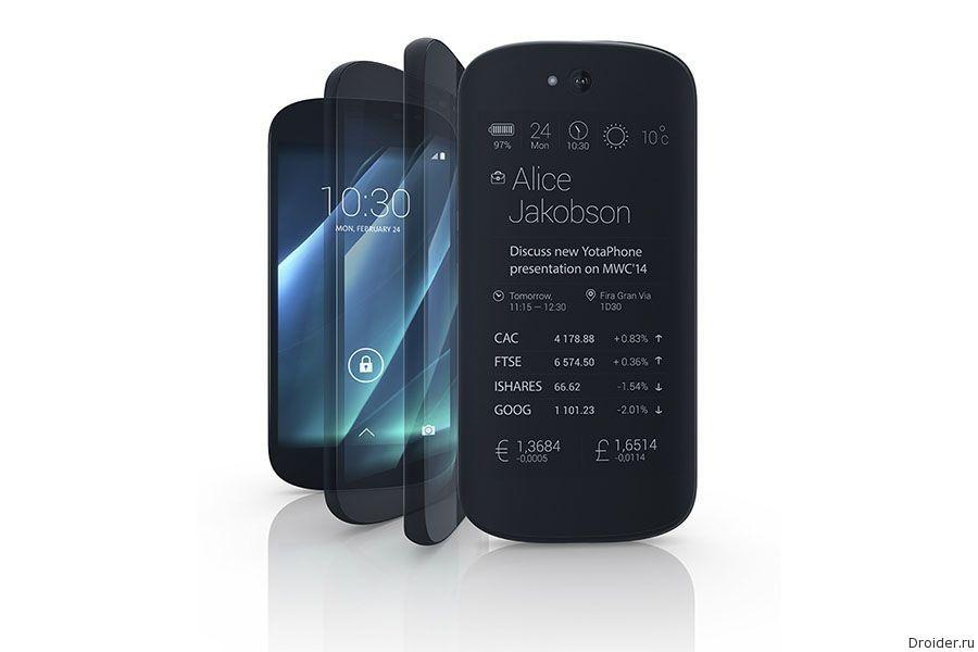 Новые сведения о смартфоне YotaPhone 2