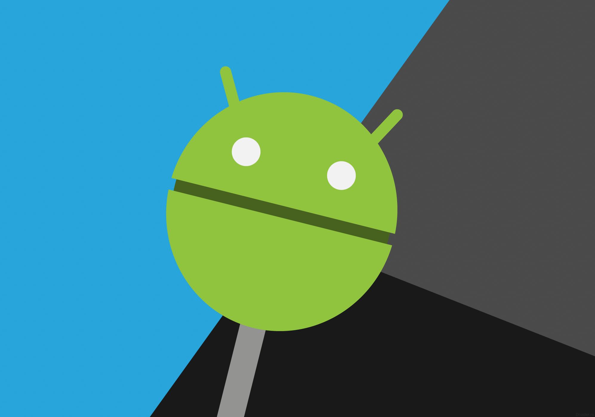 Фан-арт логотипа операционной системы Android 5.0 Lollipop