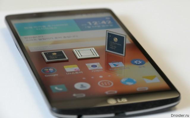 LG G3 Screen и процессор NUCLUN