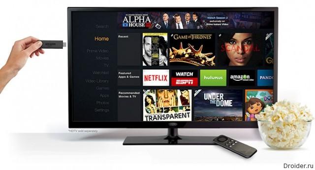 Amazon анонсировал конкурента Chromecast