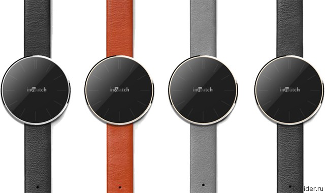 Смарт-часы inWatch Pi от Meizu на «живых» снимках