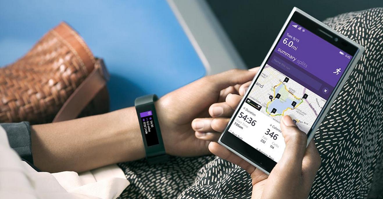 Microsoft представила фитнес-браслет Band и «здоровую» платформу Health
