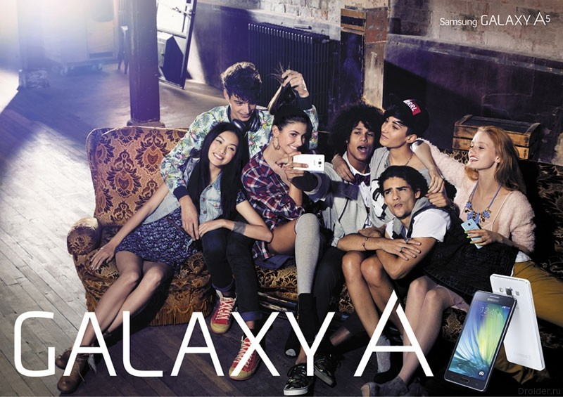 Samsung официально представила Galaxy A5 и Galaxy A3