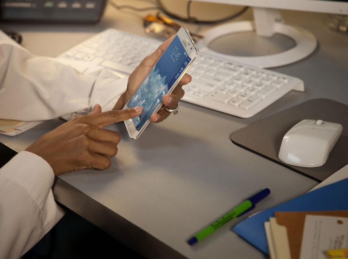 Samsung Galaxy Note Edge доступен для предзаказа в России