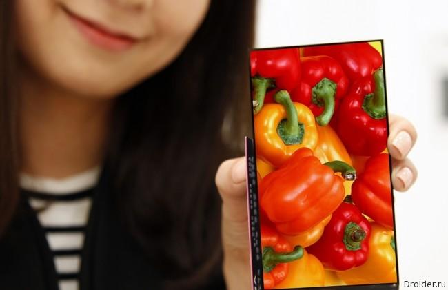 LG показала дисплей с ультратонкими рамками