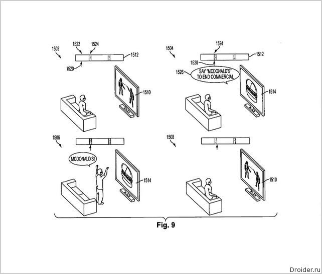 Патент от Sony