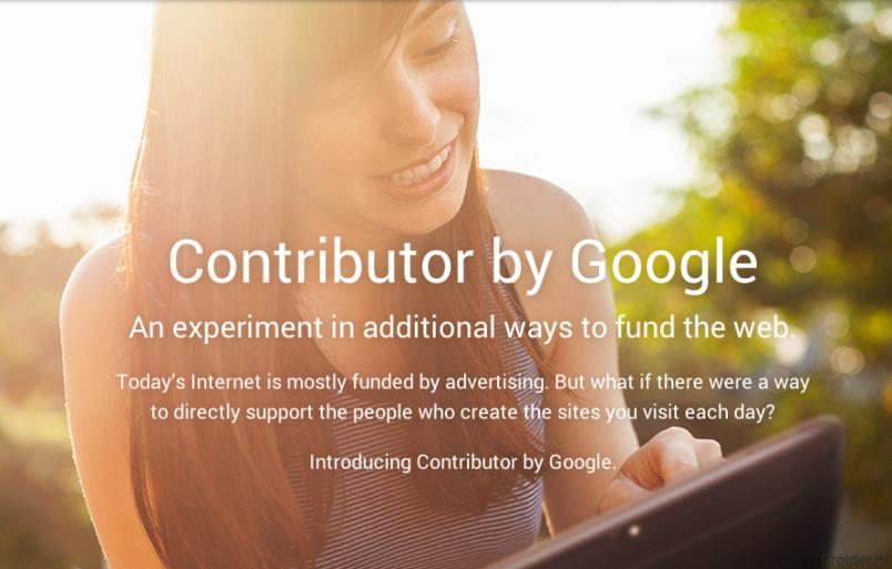 Google представила сервис Contributor