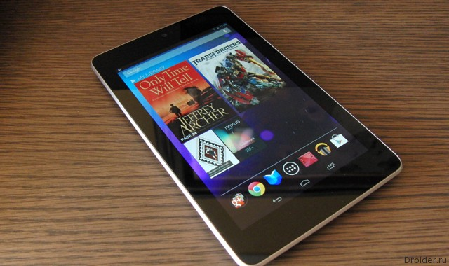 Android 5.0 Lollipop для Nexus 7 (2012)