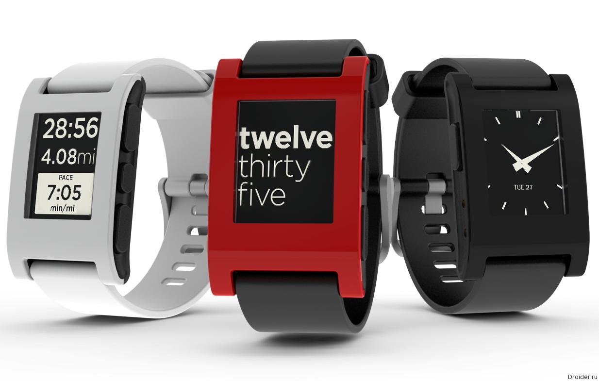 Смарт-часы Pebble Watch