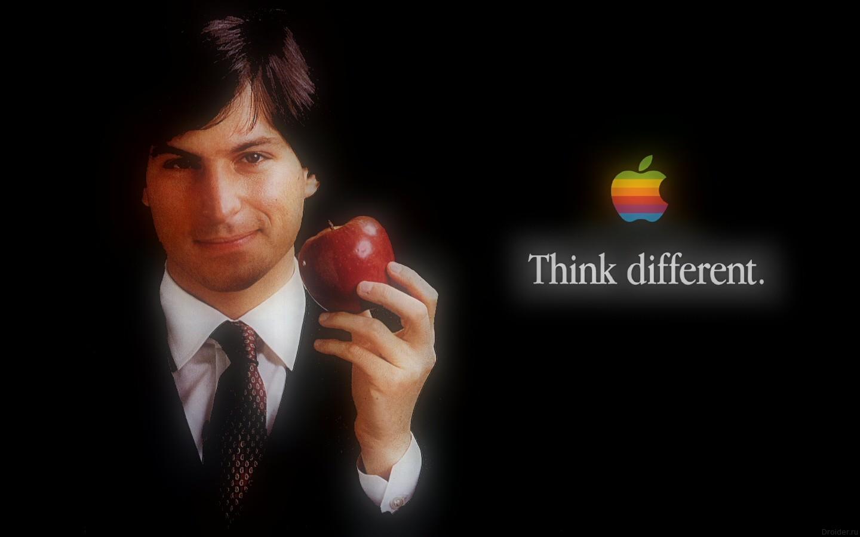 Стив Джобс на плакате Apple