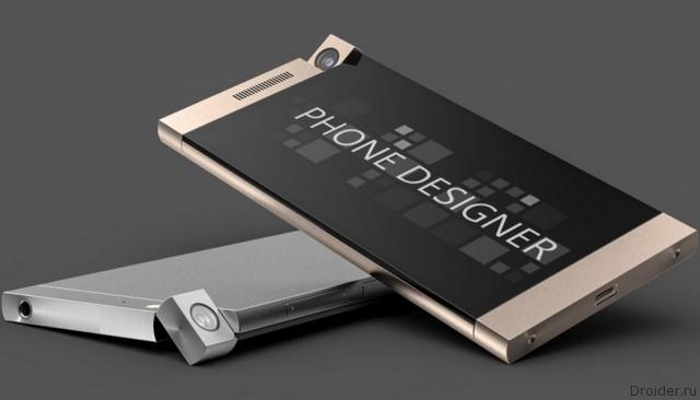 Концепт смартфона Lumia 945 с поворотной камерой