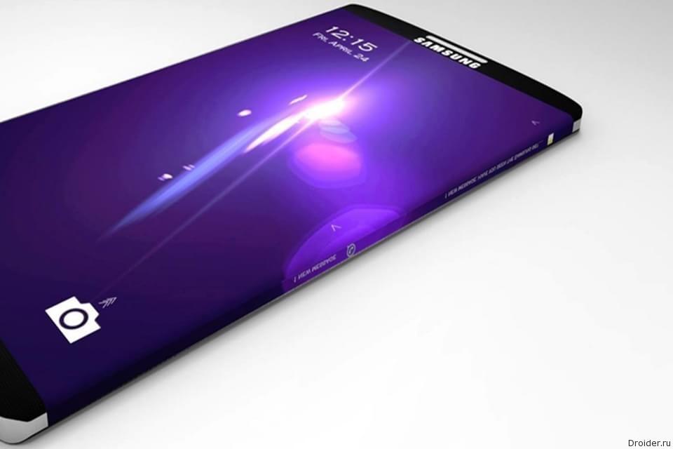 Концепт Galaxy S6 от Samsung