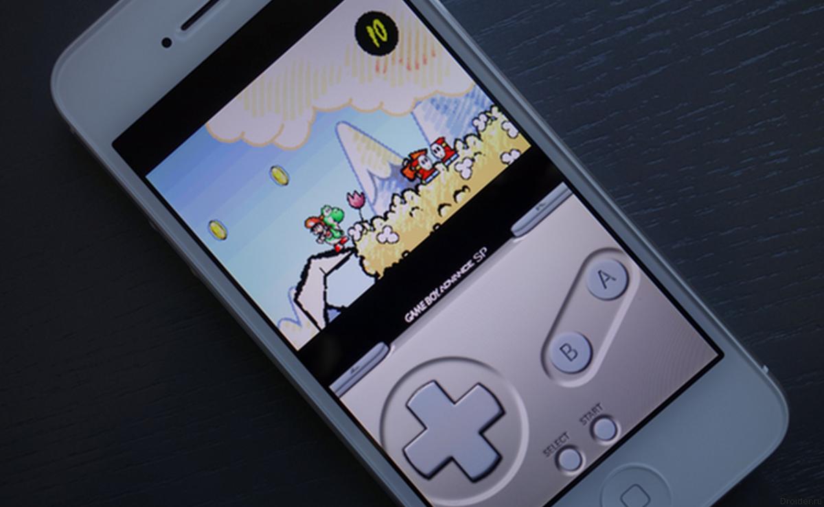 Неофициальный эмулятор Game Boy для iOS