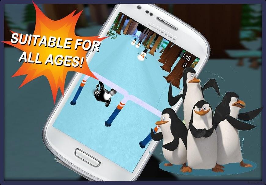 Пингвиньи бега 3D: На полюс!
