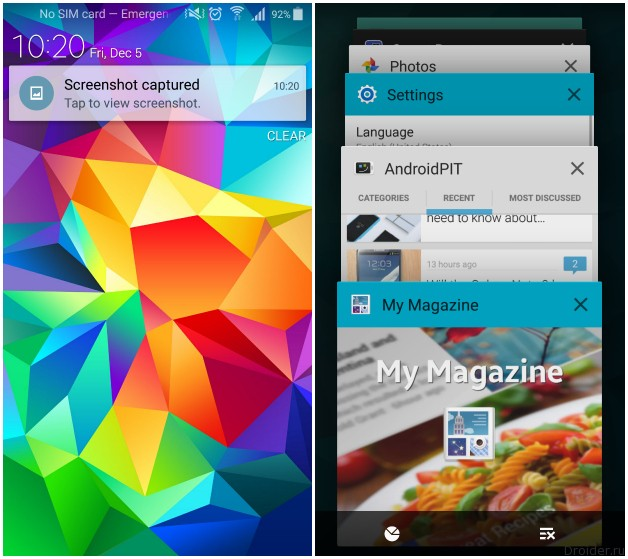 Android 5.0 на Samsung Galaxy S5