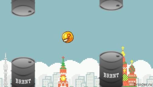 Игра про падение рубля и нефти появилась в Google Play