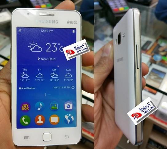 Смартфон z1 от samsung засветился на фото