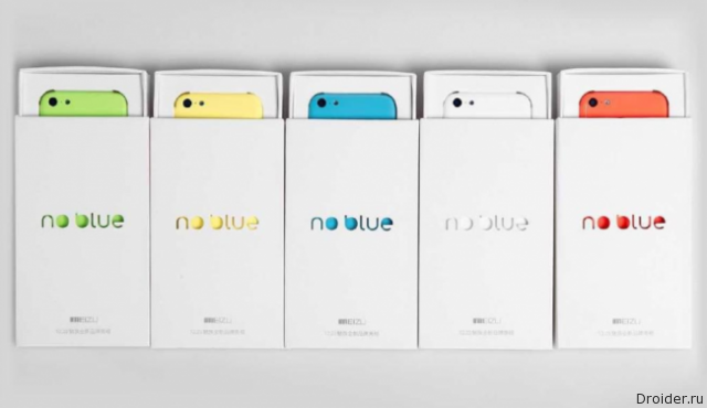 Cмартфоны Meizu Blue Charm и Blue Charm Note