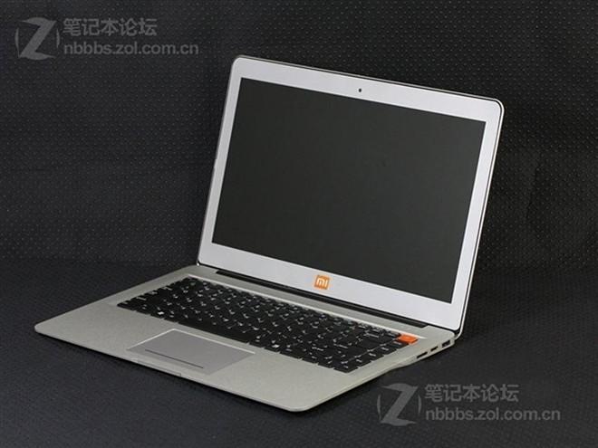 Появились первые изображения ультрабука от Xiaomi