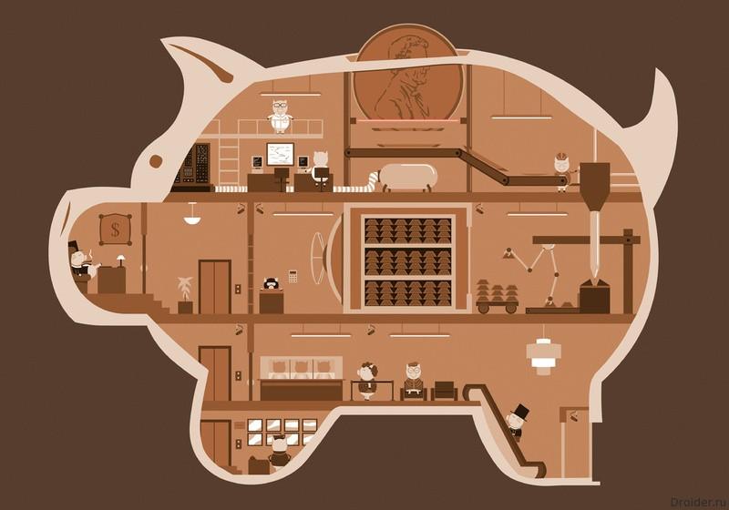 Механизм свиньи-копилки