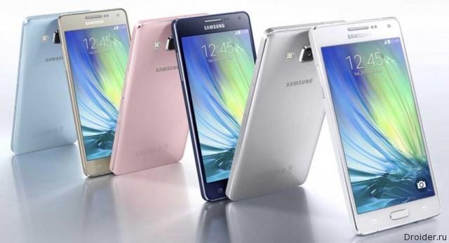 Смартфон Galaxy A3 от Samsung