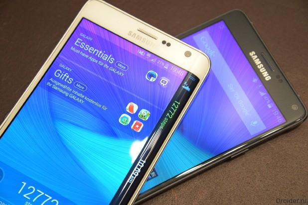 Samsung работает над Galaxy S6 и S6 Edge