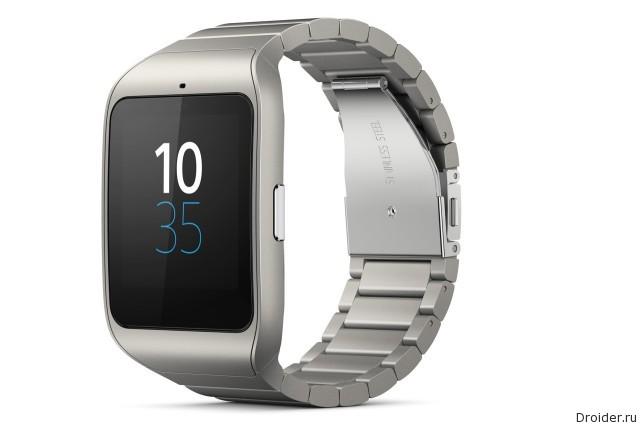 Sony представила SmartWatch 3 в металле