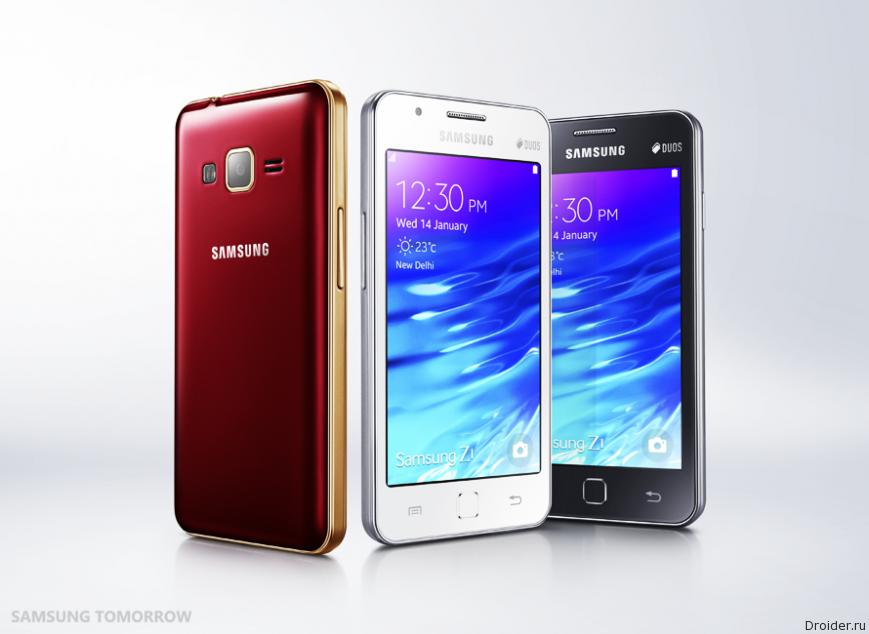 Tizen-новинка Z1 от Samsung поддерживает Android-приложения