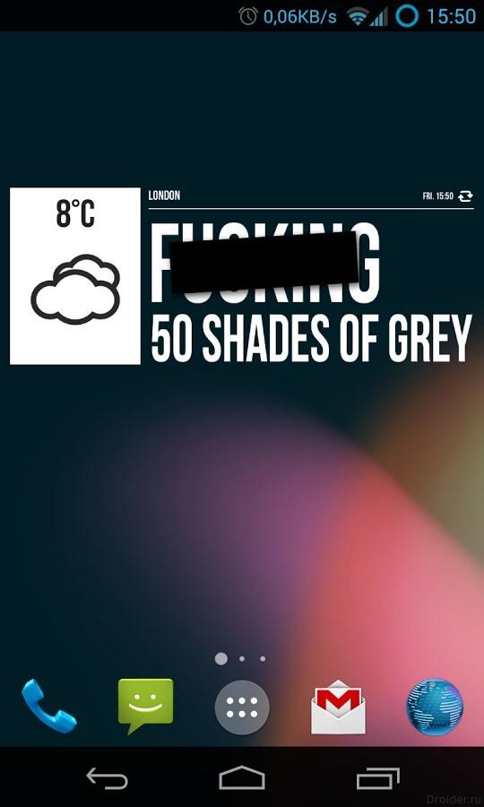 Grumpy Weather