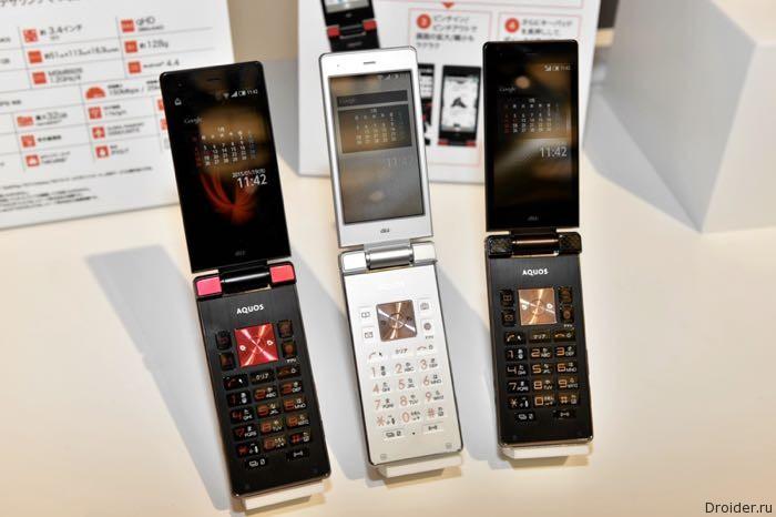 Sharp анонсировала «раскладушку» Aquos K и компактный смартфон